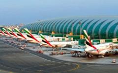 الصورة: الصورة: مطار دبي يحتفظ بصدارته في عدد المسافرين الدوليين رغم الجائحة