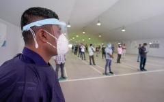 الصورة: الصورة: افتتاح مركز جديد لإجراء اختبارات «كوفيد ـ 19» في منطقة المصفح بأبوظبي