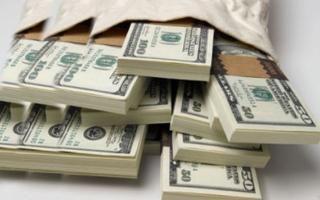 الصورة: الصورة: عثروا على مليون دولار في كيس نفايات وسلموه إلى الشرطة