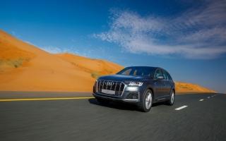 الصورة: الصورة: طرح «Audi Q7» الجديدة كلياً
