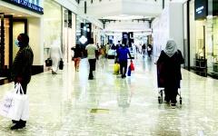 الصورة: الصورة: مراكز التسوق في العيد.. السلامة أولاً