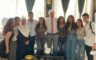 الصورة: الصورة: حالة رعب تضرب نجوماً مصريين خالطوا رجاء الجداوي