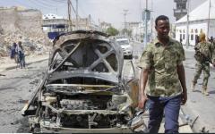 الصورة: الصورة: 5 قتلى بانفجار خلال الاحتفال بعيد الفطر في الصومال