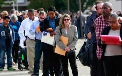 الصورة: الصورة: تحذير من ارتفاع معدل البطالة الأمريكي