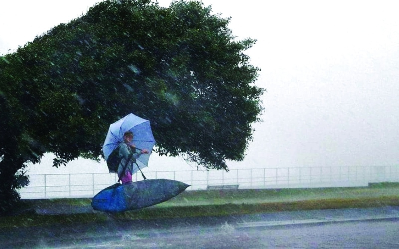 الصورة: الصورة: ولاية غرب أستراليا تتأهب لأسوأ عاصفة منذ 10 سنوات
