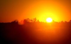 الصورة: الصورة: شاهد .. الشمس تحدد القبلة يوم الأربعاء