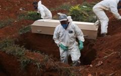 الصورة: الصورة: البرازيل تتجاوز أمريكا في عدد الوفيات اليومية بفيروس كورونا