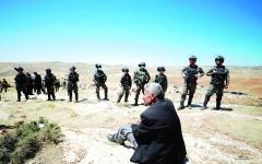 الصورة: الصورة: باريس: أي ضم إسرائيلي لأراضٍ من الضفة لا يمكن أن  يبقى دون رد