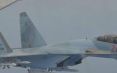 الصورة: الصورة: مقاتلات روسية تعترض طائرة أمريكية في مواجهة استمرت 65 دقيقة