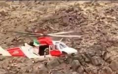 الصورة: الصورة: المركز الوطني للبحث والإنقاذ يعثر على باقي المفقودين في وادي الحلو