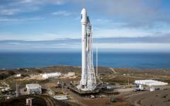 الصورة: الصورة: الطقس يؤجل إطلاق أول رحلة فضاء مأهولة من أمريكا منذ سنوات
