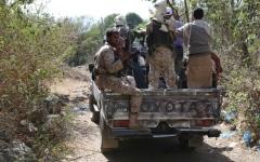 الصورة: الصورة: ضربات دامية للحوثيين في الجوف