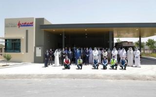 إسعاف دبي تدشن محطة شوبا الإسعافية في ند الشبا