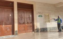 الصورة: الصورة: استعدادات سعودية لفتح أكثر من 90 ألف مسجد غداً