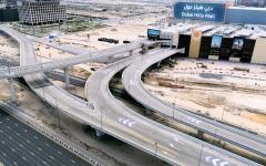 الصورة: الصورة: إنجاز الجسور والطرق المؤدية لــ «دبي هيلز مول»