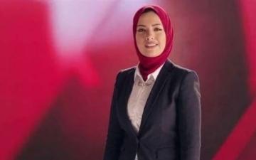الصورة: الصورة: إعلامية مصرية مشهورة تعلن إصابتها بكورونا