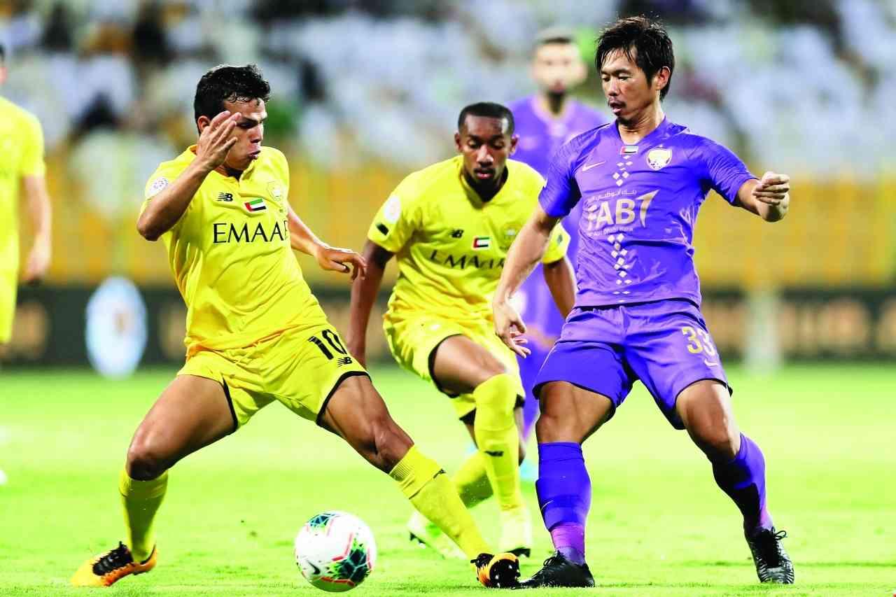 الصورة : جانب من إحدى مباريات العين في دوري الخليج العربي | أرشيفية