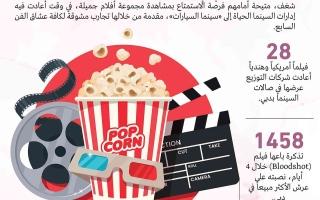 الصورة: الصورة: صالات دبي تتنفس سينما مجدداً