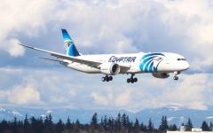 """الصورة: الصورة: """"مصر للطيران"""" توضح حقيقة تشغيل رحلات من الإمارات إلى القاهرة"""