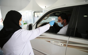 الصورة: الصورة: انخفاض الإصابات  يؤكد نجاح الإمارات في محاصرة «كوفيد 19»
