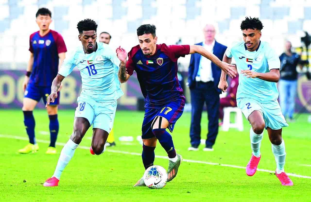 الصورة : جانب من إحدى مباريات دوري الخليج العربي    أرشيفية