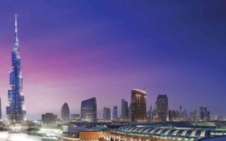 الصورة: الصورة: دبي مسرحاً لأحداث فيلم خيال علمي  جديد