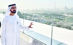 الصورة: الصورة: بتوجيهات محمد بن راشد..  مولد عملاق اقتصادي بضم «مراس» إلى «دبي القابضة»