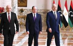 الصورة: الصورة: «إعلان القاهرة».. خارطة الطريق إلى ليبيا الجديدة