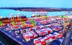 الصورة: الصورة: موانئ دبي تستحوذ على 51 % من محطة حاويات بأوكرانيا