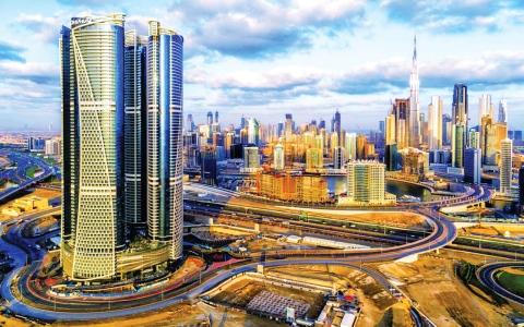 الصورة: الصورة: دبي الرابعة عالمياً بتقديم  أفضل تجربة سياحية