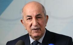 الصورة: الصورة: الرئيس الجزائري يؤكد عزمه على إقرار دستور توافقي
