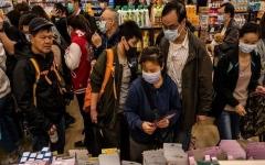 الصورة: الصورة: إغلاق سوق كبيرة في بكين بعد زيادة عدد الإصابات بكورونا