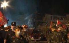 الصورة: الصورة: مقتل 14 شخصاً على الأقل بعد انفجار شاحنة  في الصين
