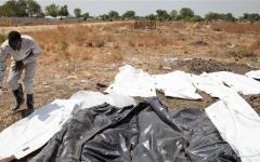 الصورة: الصورة: اكتشاف مقبرة جماعية لمجندين في السودان تعود للعام 1998