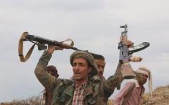 الصورة: الصورة: القوات المشتركة تكبد الحوثيين خسائر كبيرة في نهم والفاخر