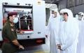 الصورة: الصورة: بحث تعزيز التعاون بين «مدني دبي» و«الإسعاف»