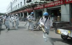 الصورة: الصورة: استقرار في الإصابات اليومية بكورونا في بكين