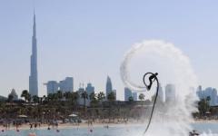 الصورة: الصورة: مجلس دبي الرياضي يطلق المنافسات الرياضية والبداية من البحر