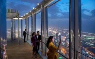 الصورة: الصورة: موسيقى وغناء من الطابق 125  في برج خليفة 25 الجاري