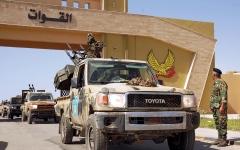 الصورة: الصورة: الجيش الليبي يعزز قواته لتأمين سرت
