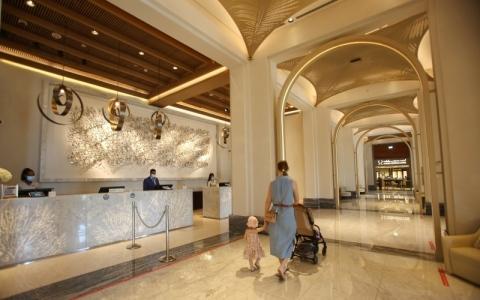 الصورة: الصورة: زيادة تدريجية للنشاط السياحي في دبي