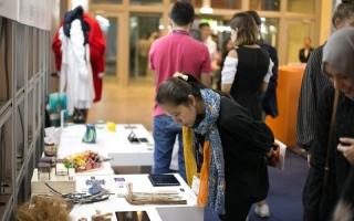 الصورة: الصورة: «معرض الخريجين»..إبداعات مستدامة تتصدى  للجائحة