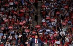 الصورة: الصورة: ترامب يفتتح حملته الانتخابية في أوكلاهوما