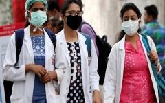 الصورة: الصورة: الهند تسجل أكثر من 15 ألف إصابة بكورونا في 24 ساعة