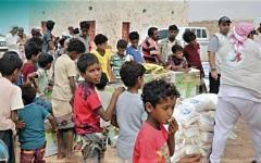 الصورة: الصورة: خليفة الإنسانية تغيث 35 قرية نائية في سقطرى