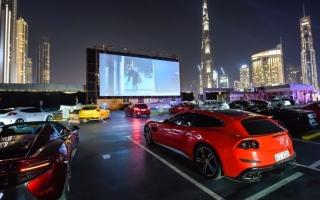 الصورة: الصورة: سينما السيارات ألق وابتكار في دبي