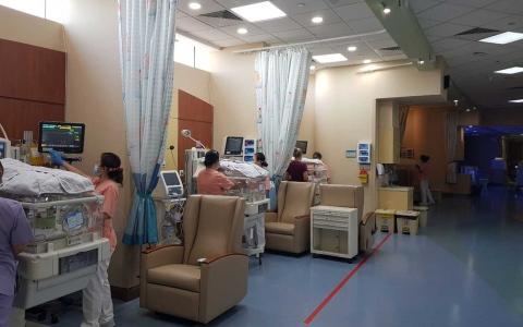 الصورة: الصورة: توسعة وحدة العناية المركزة لحديثي الولادة والخدج في مستشفى دانة الإمارات