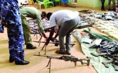 الصورة: الصورة: السودان يضبط أسلحة تركية مهربة إلى إثيوبيا