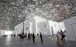الصورة: الصورة: اللوفر أبوظبي يفتح أبوابه مجدداً ويستقبل محبي الفن