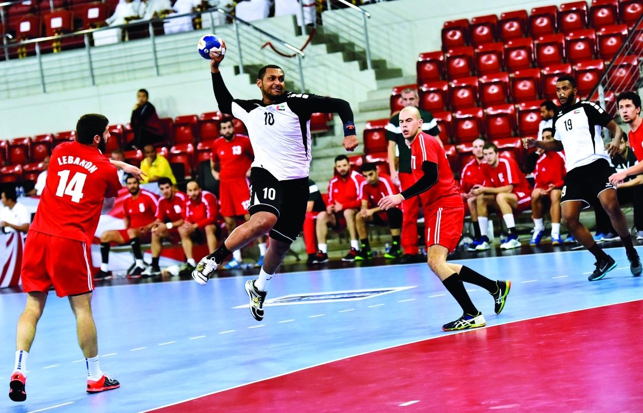 الصورة : من لقاء منتخبنا مع نظيره اللبناني في البطولة الآسيوية | أرشيفية